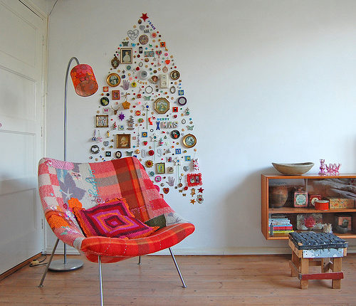Christmas Tree made out of stuff