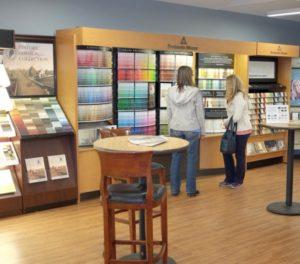Color center at Hirshfield's Eden Prairie