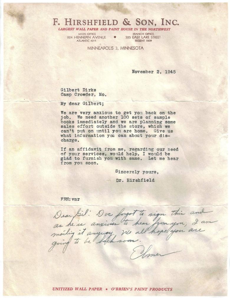 Christmas Letter 1943