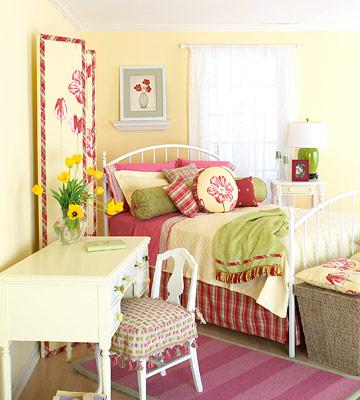 decorating girl's bedroom