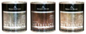 Benjamin Moore Molten Metallics
