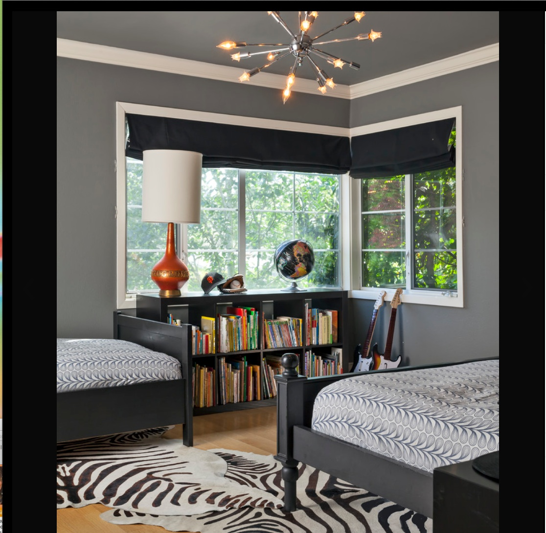 Bedroom Interior Ceiling Design Holland Blinds Bedroom Bedroom Furniture Gray Black And White Photos For Bedroom: {bits & Pieces: Boys' Bedroom In Chelsea Gray}