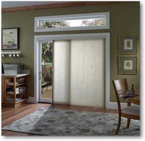Window treatment for sliding doors