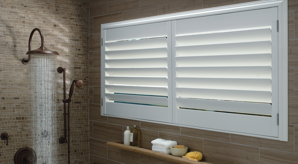 Palm Beach shutters from Hunter Douglas