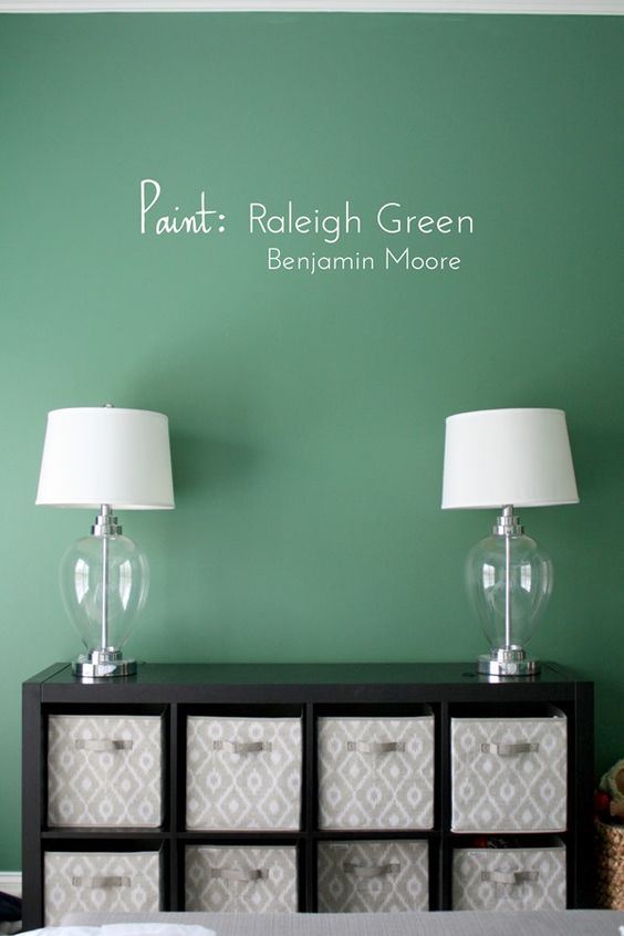 Raleigh Green by Benjamin Moore