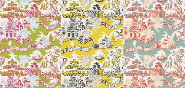 wallpaper patterns from Thibaut book