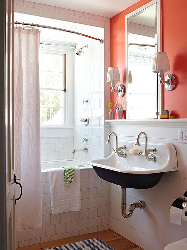 Sink painted black