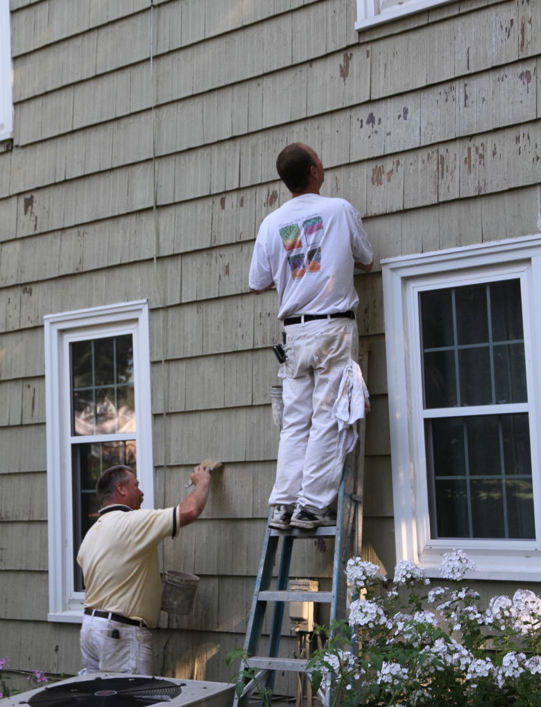 Friday finds exterior painting tips for fall weather hirshfield 39 s - Temperature for exterior painting ...