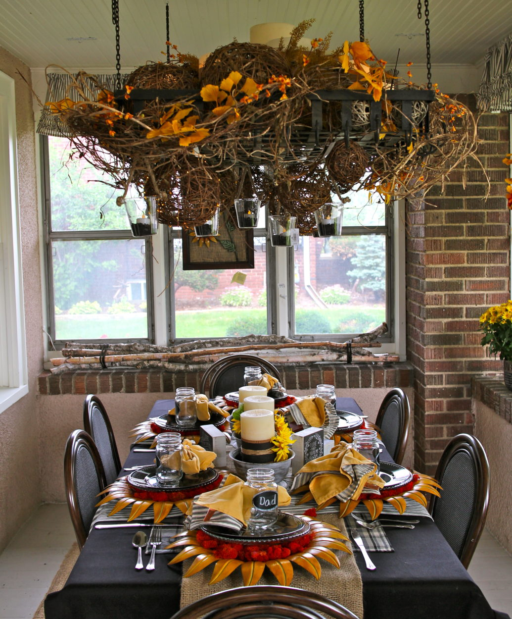 Bachman's porch in Fall Ideas House 2014