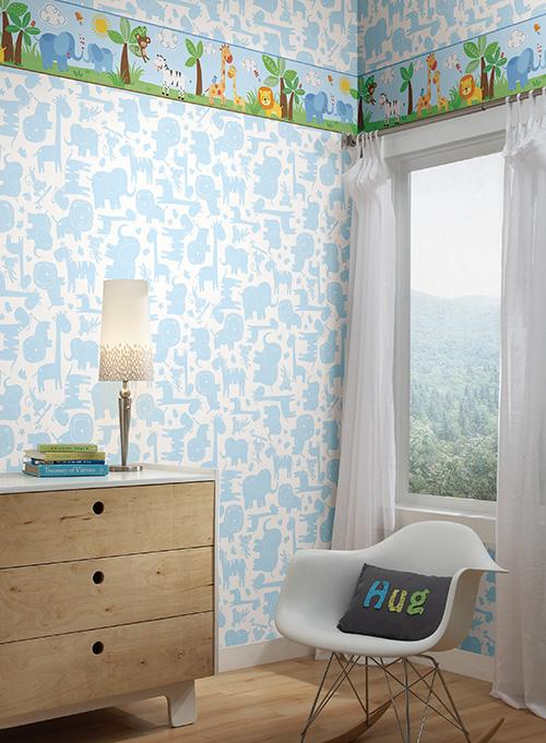 York Wallpaper Room to Grow