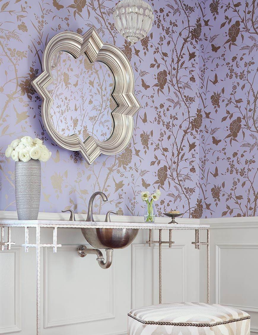 Thibaut Patterned Wallpaper