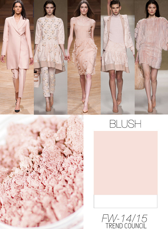 Dirty Pastel pink for walls
