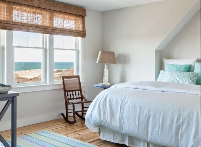 coastal inspired window treatments