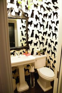 Dog wallcovering Patterns