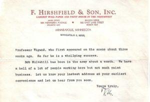Hirshfield's Christmas Letter