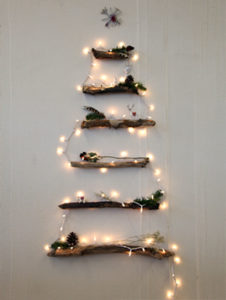 Christmas Tree made out of sticks