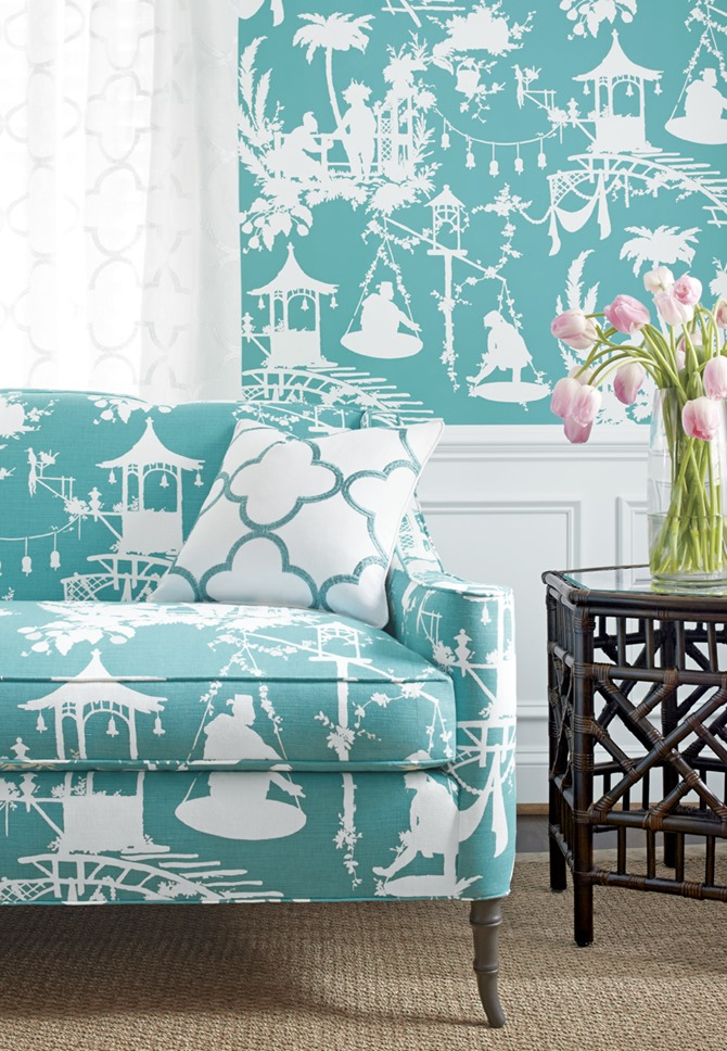 Chinoiserie By Thibaut