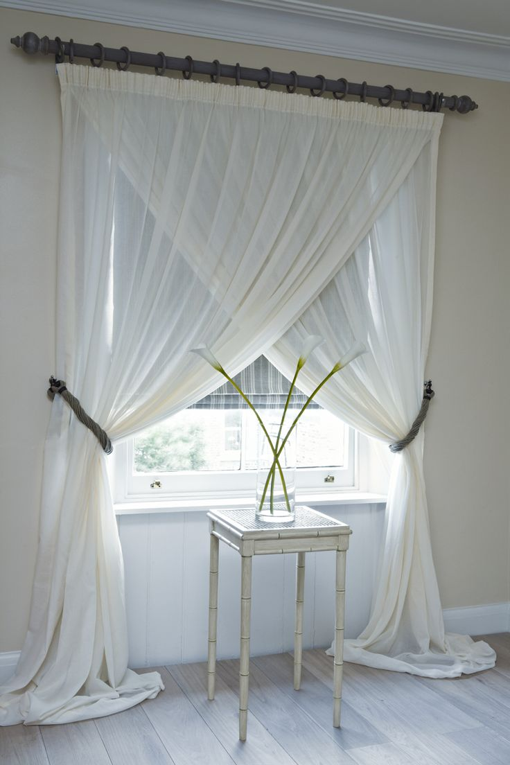 Sheers for draperies