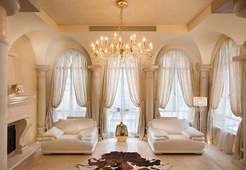 Living Room Draperies