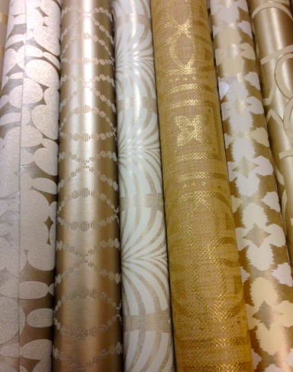 Hirshfield's Metallic Wallcoverings