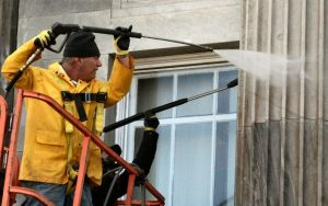 Powerwashing Wood Siding