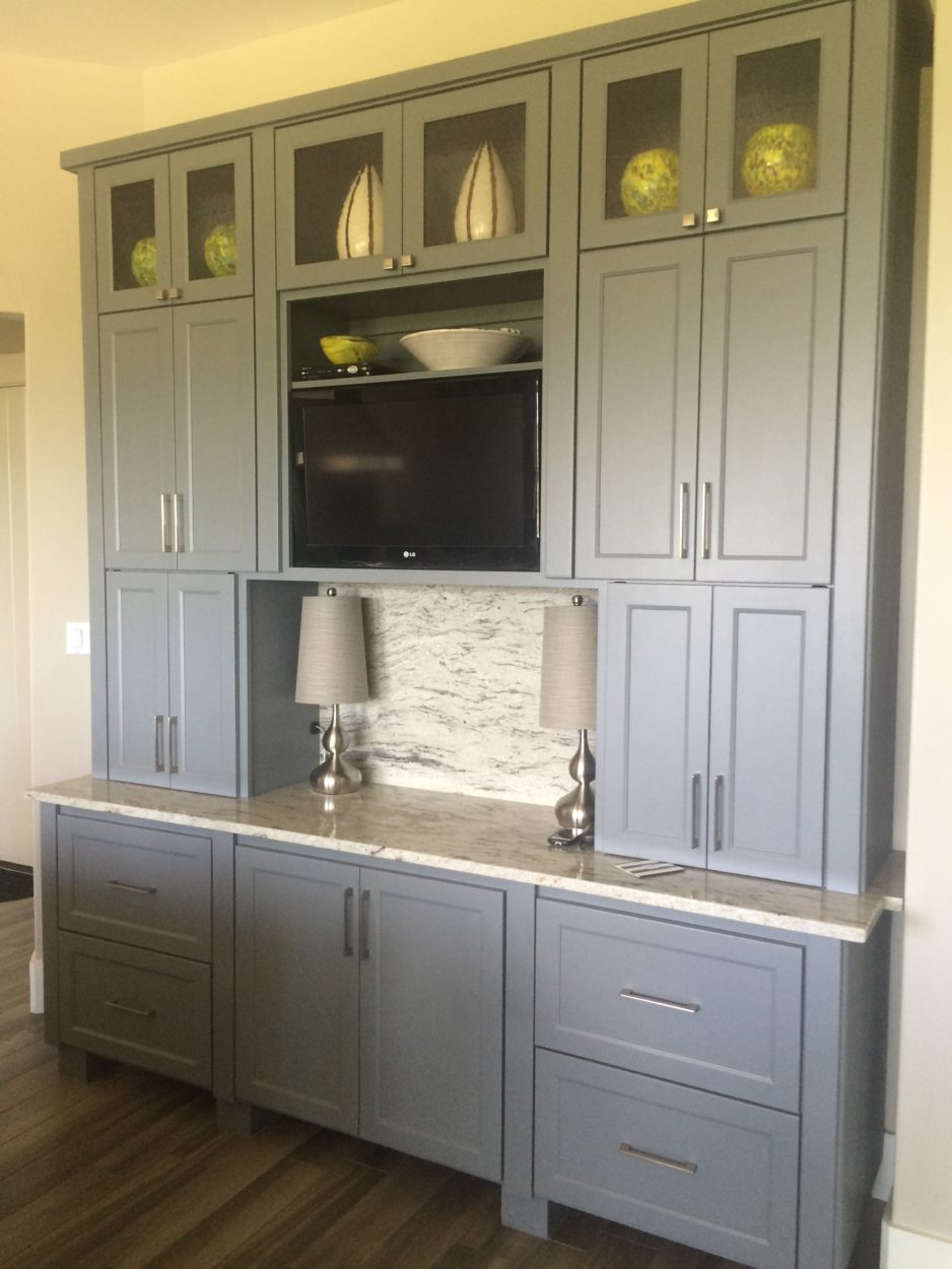 Gray Cabinets With Greige Paint Hirshfield S
