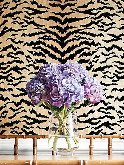 Tiger Flock - Thibaut Design