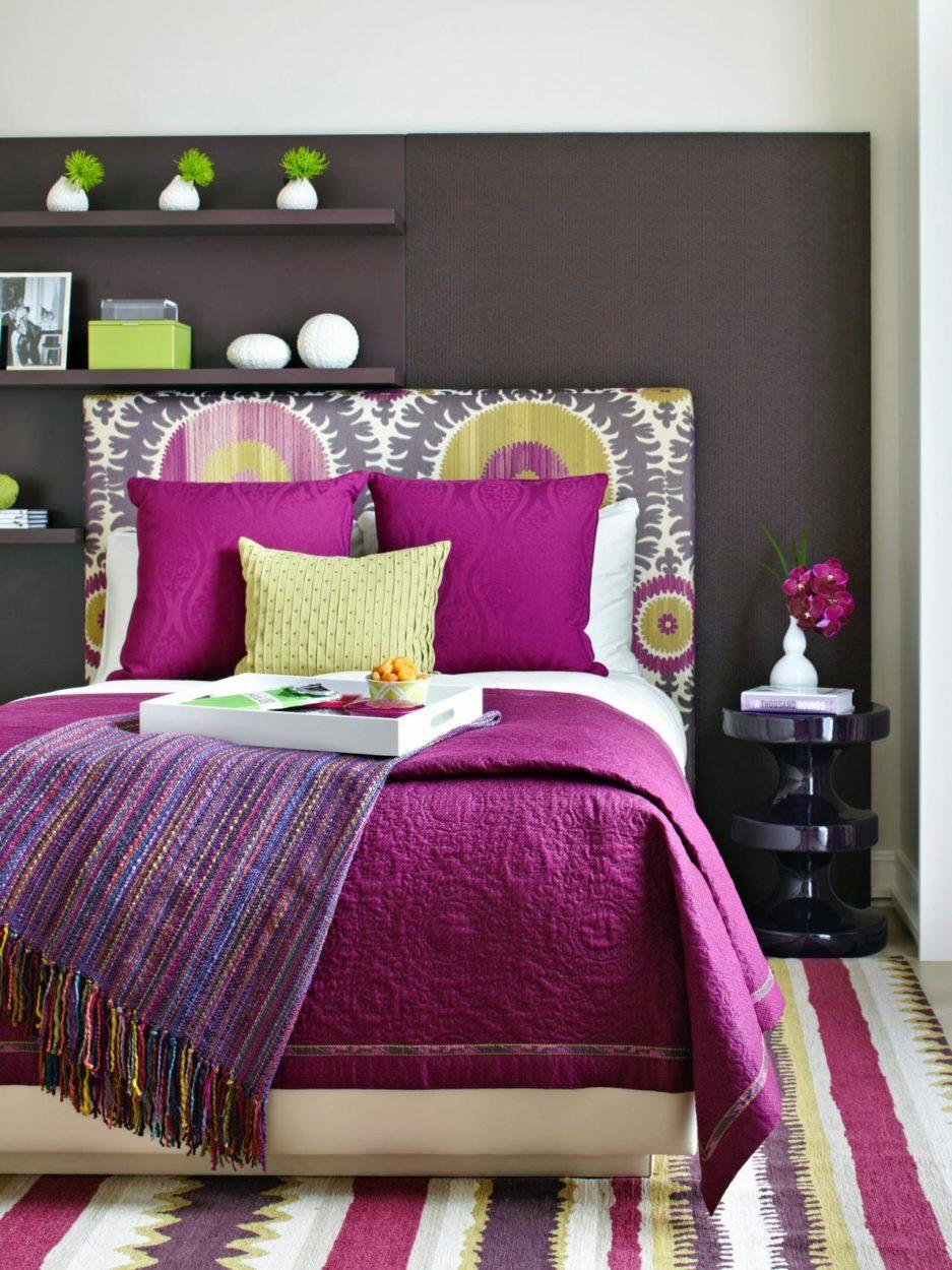 Bold Bedroom - HGTV   Photography by Werner Straube