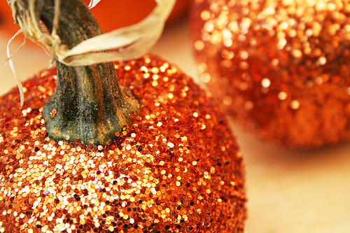 Glitter Pumpkins | Her Campus