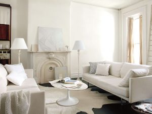 Color Trends white room Simply White