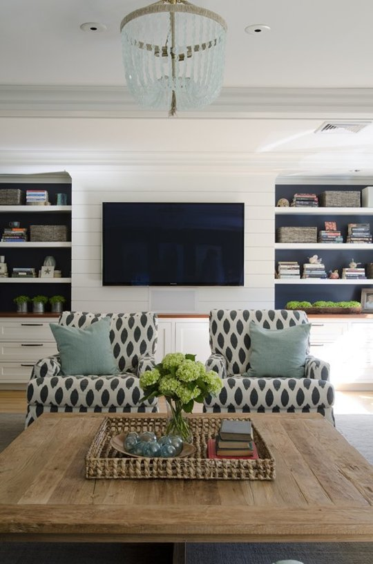 Living Room TV | Kristina Crestin Design
