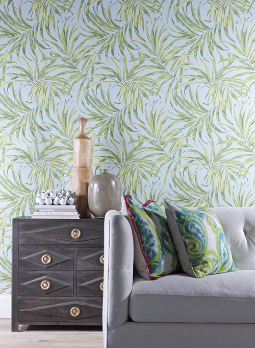 Bali Leaves by York Wallcoverings