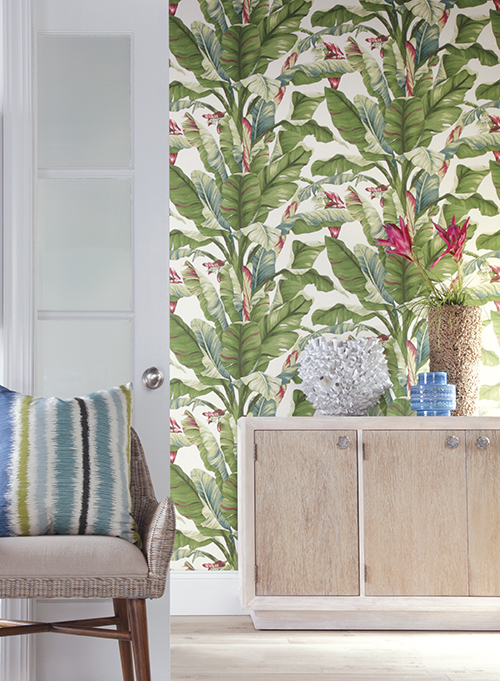 Banana Leaf by York Wallcoverings