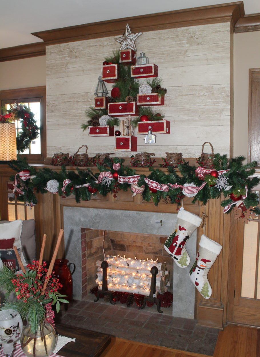 Living room Bachman's Holiday Ideas House 2015