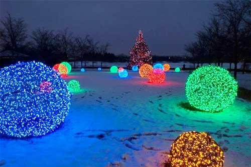 credit christmas lights etc