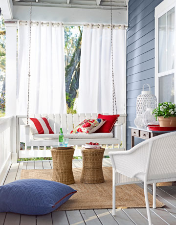 porch setting DYI projects interior home