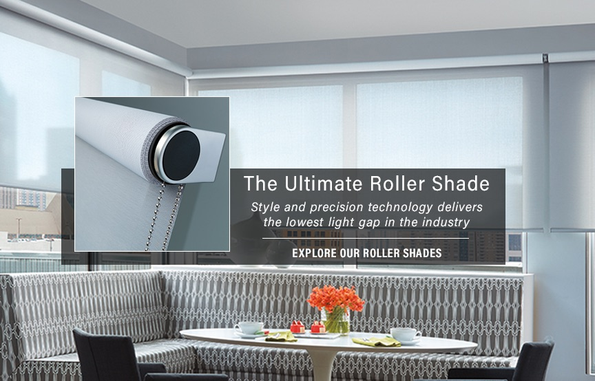 roller shade hunter douglas window treatment