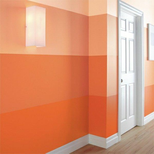 Stripe Pattern Wall Painting Ideas Tips