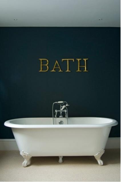 Bath with Hague Blue
