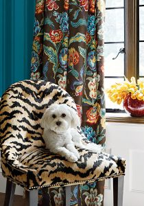 thibaut wallpaper with dog