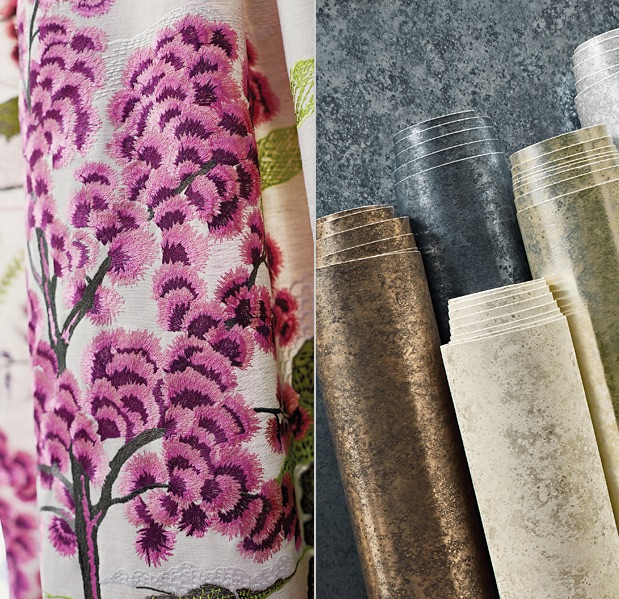 Thibaut wallpaper texture and print