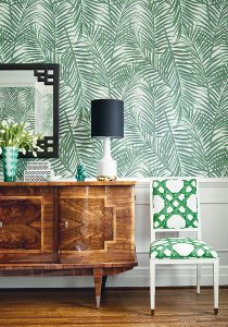 Thibaut Summerhouse wallpaper floral design