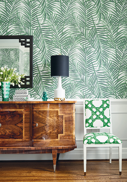 Summer House Wallpaper by thibaut