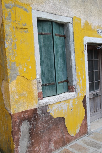 Yellow house in Burano
