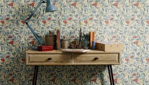 William Morris wallcovering pattern