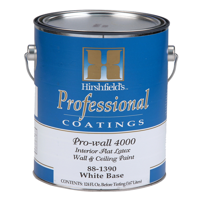 Calculating Paint Coverage Interior: Pro-wall 4000 Interior Latex