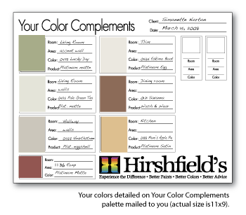 in home color consultation