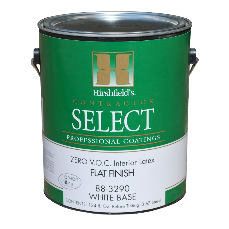Contractor select zero paint gallon hirshfields