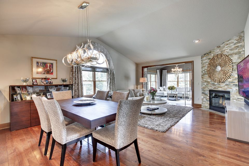 Mahtomedi home image dining room