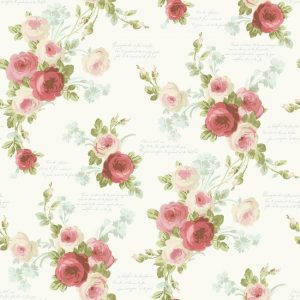 Magnolia HOme Heirloom Rose wallpaper